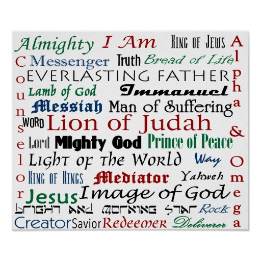 Nombres de Jesús Impresiones