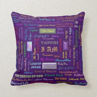 nombres de la almohada de encargo reversible de di