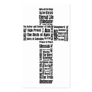 Nombres del 2:1 de Jesús Eph - zona de 10 evangeli Tarjetas Personales