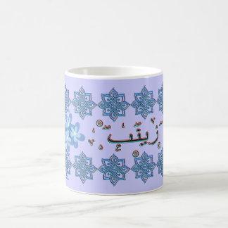 Nombres del árabe de Zainab Zaynab Tazas