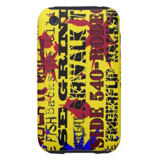 nombres del truco del monopatín 40.Popular iPhone 3 Tough Carcasa