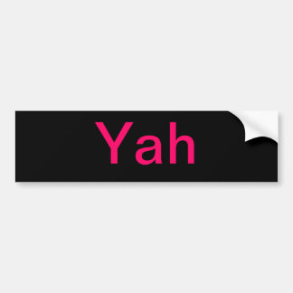 Nombres hebreos de dios pegatina para auto