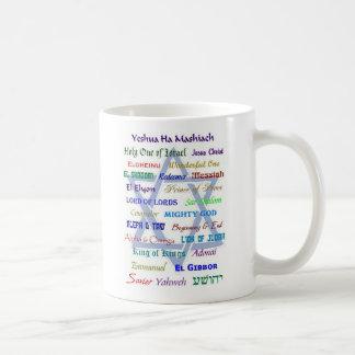 Nombres mesiánicos taza