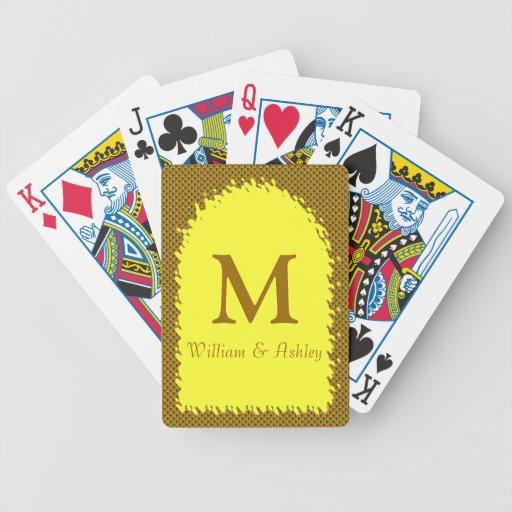 Nombres modificados para requisitos particulares y baraja cartas de poker