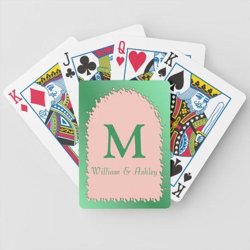 Nombres modificados para requisitos particulares y baraja de cartas