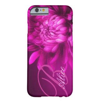 """nombró"" el crisantemo caja de color de malva del funda de iPhone 6 barely there"