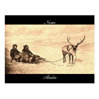 Nome Alaska Postcard