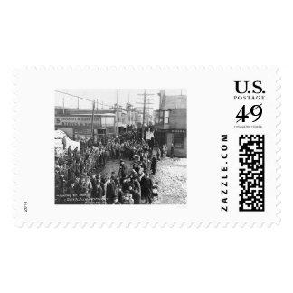 Nome, Alaska Sweepstakes 1913 Stamp