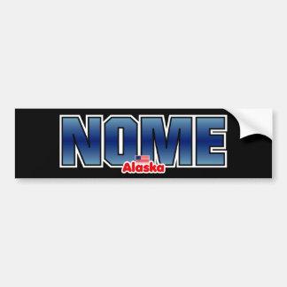 Nome Bumper Bumper Sticker