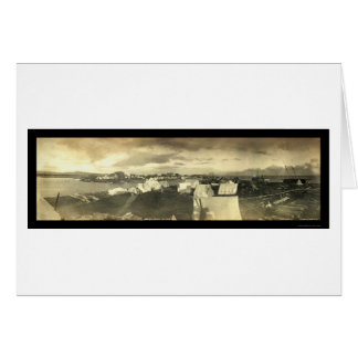 Nome City AK Panorama Photo 1899 Greeting Card