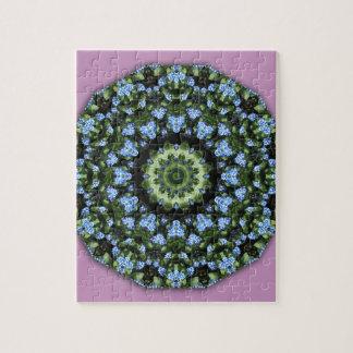 Nomeolvides 001 01, Forgetmenot, flor de la Puzzle