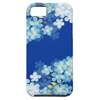 Nomeolvides azules iPhone 5 cárcasa