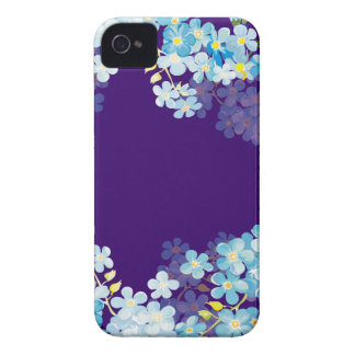 Nomeolvides azules iPhone 4 Case-Mate protector
