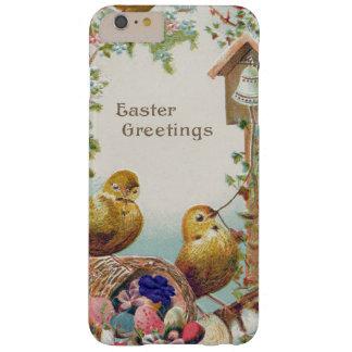 Nomeolvides Bell del polluelo de Pascua Funda Barely There iPhone 6 Plus