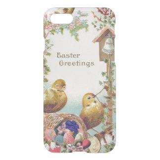 Nomeolvides Bell del polluelo de Pascua Funda Para iPhone 7