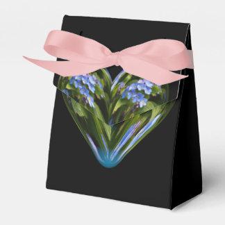 nomeolvides del corazón cajas para regalos