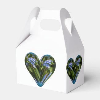nomeolvides del corazón cajas para regalos de fiestas