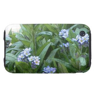 Nomeolvides en el jardín carcasa though para iPhone 3