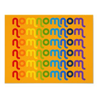 NomNomNom Invitation