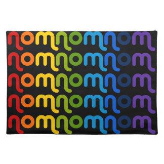 Nomnomnom Rainbow Cloth Placemat