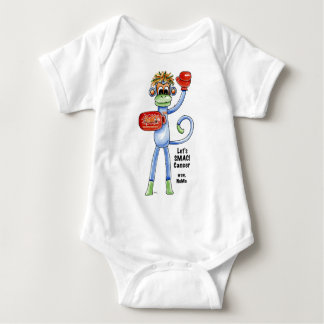 NoMo the SMAC! Monkey - Boxing Baby Bodysuit