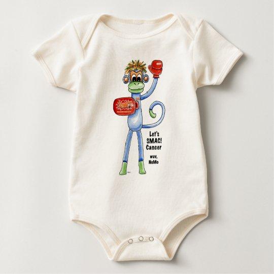 NoMo the SMAC! Monkey - Boxing Baby Bodysuit
