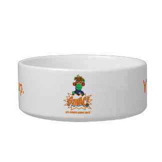 NoMo with Logo Cat Bowl