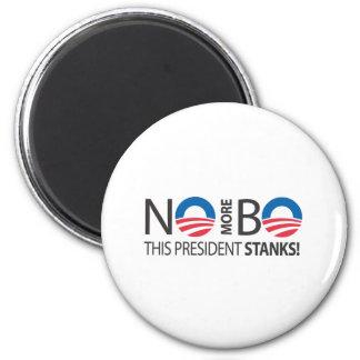NoMoreBo_thispresidentStanks.ai 2 Inch Round Magnet