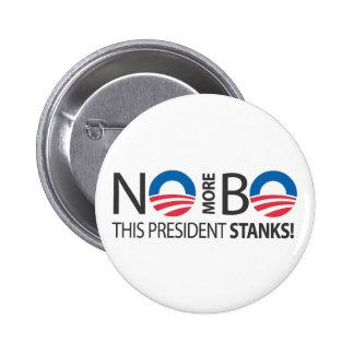 NoMoreBo_thispresidentStanks.ai Pin Redondo 5 Cm