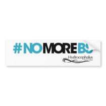 #NOMOREBS Bumper Sticker