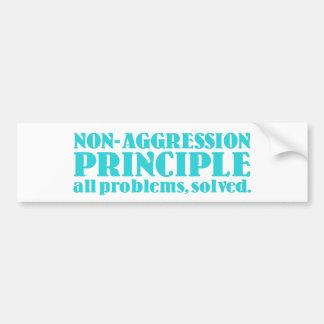 Non-Aggression Principle Bumper Sticker