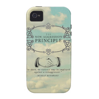 Non-Aggression Principle iPhone 4/4S Case-Mate Cas Case For The iPhone 4