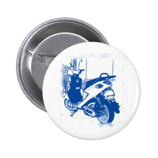 Non Apparel Blue Buddy Scooter Pinback Buttons
