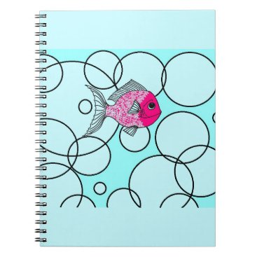 Beach Themed non apparel items spiral notebook