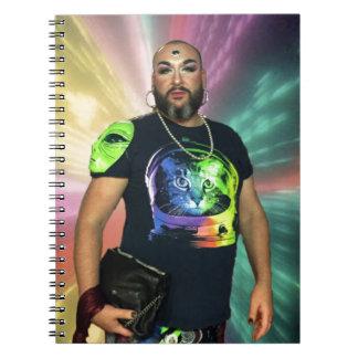 Non Binary Gay Science Fiction Drag Notebook