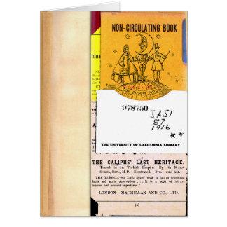 Non-Circulating Card #6