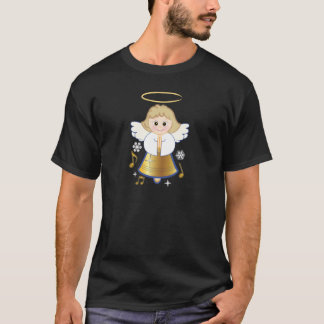 Non-Denominational Holiday Bell Angel T-Shirt