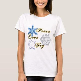 Non-Denominational Holidays Peace Love Joy T-Shirt