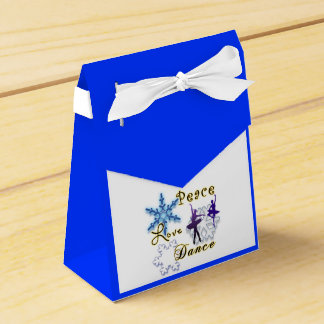 Non-Denominational: Peace, Love, Dance Favor Box