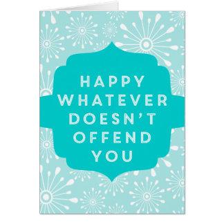 Non-Denominational Secular Greetings! Greeting Cards