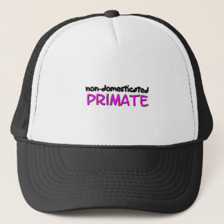 non-domesticated primate (1) trucker hat