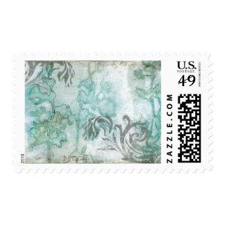 Non-Embellished Flower Spray III Postage Stamp