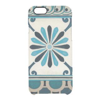 Non-Embellished Indigo Frieze II Clear iPhone 6/6S Case