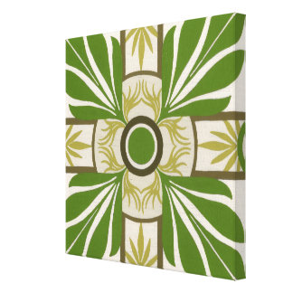 Non-Embellished Palm Motif I Canvas Print