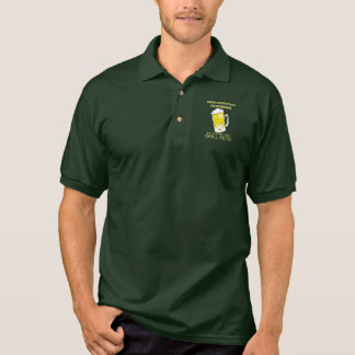 Non-Essential Personnel Beer Drinking Skill Sets Polo