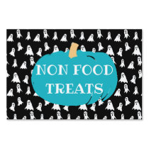 Non Food Treats Teal Pumpkin Halloween Allergy Sign