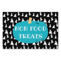 Non Food Treats Teal Pumpkin Halloween Allergy Sign