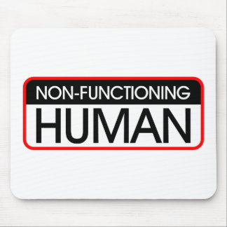 Non-Functioning Human Mouse Pad