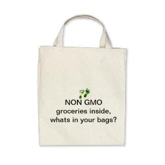 Non GMO grocery shopping bag