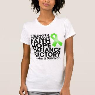 Non-Hodgkin Lymphoma Hope Strength Victory Tee Shirts